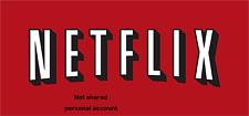 Netflix 1 Month- 4 Screens - UHD 4K - Warranty - fast shipping Not Shared