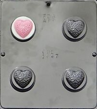 Filigree Heart Chocolate Oreo Cookie Mold Valentines Day 1647 NEW