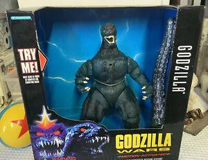 "Godzilla Wars ""GODZILLA"" TRENDMASTERS Motion Activated Roaring figure Toho 1995"