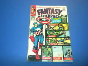 FANTASY MASTERPIECES #5 Marvel Comics 1966 Timely Captain America