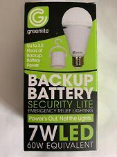LED 7W A21 Omni Rechargeable Emergency Bulb Backup Battery