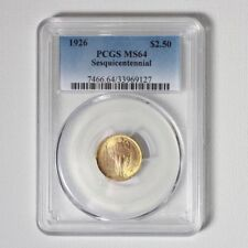 1926 Sesquicentennial Gold $2.5 PCGS MS64 ***Rev Tye's Coin Stache*** #9127600