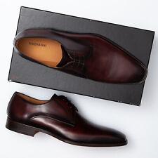 Magnanni Mario Dark Brown Leather Derby Oxfords - Men's 14 M