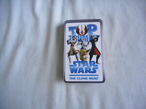 Star Wars The Clone Wars Top Trump Card Game