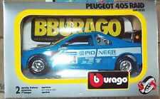 Burago- Peugeot 405 Raid-1/24 Burago
