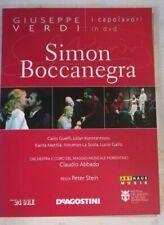 Verdi Simon Boccanegra Maggio Musicale Fiorentino Abbado DVD
