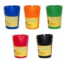 2X ASHTRAY Butt Bucket Cigarette Tobacco Color Holder Ash Container Storage
