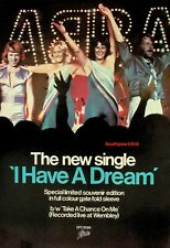 "1979 Abba ""I Have A Dream"" Song Release Music Industry Promo Ad Reprint"