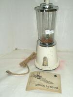 Vintage KM KNAPP MONARCH Liquidizer 2 Speed and Recipe Book