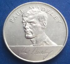 VERY RARE PAUL MADELEY ENGLAND 1970 WORLD CUP SQUAD ESSO COINS / MEDALS