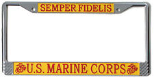 Us Marine Corps Marines Kennzeichenhalterung Usmc Semper Fi Rothco 1935