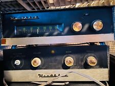 New listing Vintage Heathkit Tube Amplifier and Receiver pair
