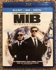 Men in Black International (Blu-ray/Dvd + Digital, 2019) Chris Hemsworth