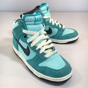 RARE Nike Dunk High Womens 9.5/ Mens 8 - NewGreen / Anthracite 'Tropical Twist'