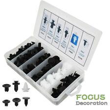 100pc 6 Size Clip Trim Car Push Pin Rivet Bumper Door Panel Retainer Assortment