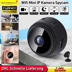 ✔️Mini Kamera Wireless WiFi WLAN IP Überwachungkamera Hidden Camera HD 1080P✔️