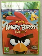 Angry Birds Trilogy - Xbox 360 UK Release Microsoft Factory Sealed!
