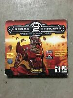 Space Rangers 2 (PC CD) Brand New Rare US Retail Sealed Boxed Edition