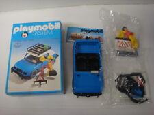 Playmobil ancien klicky état neuf en boite sachets scellés voiture bleue rf 3210