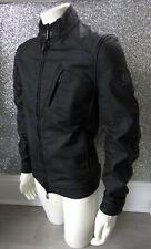 Black Polyurethane BELSTAFF H RACER Jacket IT 52 UK XL