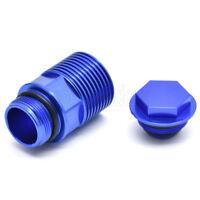 Works Connection Rear Brake Reservoir Cap Blue for KTM 450 SX-F Factory Edition 2012-2018