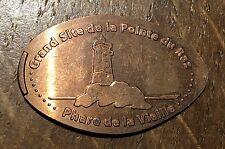 PIECE DE 5 CENTIMES SOUVENIR, ALONGEE POINTE DE RAZ (120)