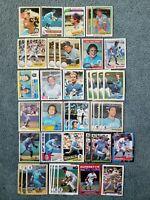 George Brett Baseball Card Mixed Lot approx 165 cards