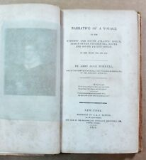 Narrative of a Voyage to the Ethiopic… by Abby Jane Morrel 1833 1st Ed - Whaling