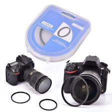 High Quality Professional Optical UV Filter Camera Lenses Protect Black FraBLUS