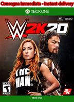WWE 2K20 2020 Xbox One NO CD NO KEY Leggi Descrizione