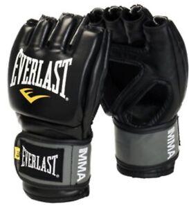 Everlast Pro Style Grappling Gloves Small  Medium Black