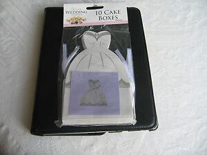 10 WEDDING CAKE BOXES