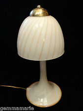 Mid Century Modern Art Glass table lamp