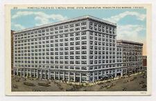 1933 CHICAGO MARSHALL FIELD CO UNUSED POSTCARD PC3617