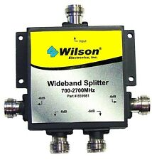 Wilson 859981 4-Way 50 Ohm Splitter, 700-2700 Mhz with N-Female Connectors
