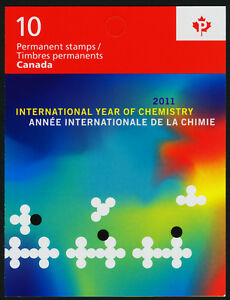 Canada 2489a Booklet MNH International Year of Chemistry, John Polanyi