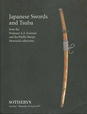 SOTHEBY'S Japanese Sword Tsuba Freeman and Sharpe Collections Catalog 1997