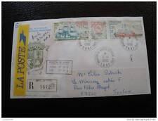 TAAF lettre 5/1/90 - timbre - yvert et tellier aérien n°113A (cy5)