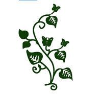 Stanzschablone Blätter Schmetterling Liane Rebe Weihnachten Karte Album Deko DIY