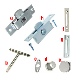 Budget Lock Latch & Accessories Keeps Escutcheon Keyhole Taper T-Key Parts