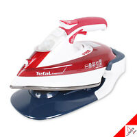Tefal 2019 New Fv9976 Red Free Move Cordless Steam Iron Homeware 250ml/ 220-240V