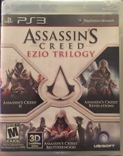Assassin's Creed: Ezio Trilogy (PlayStation 3, 2012) Complete! Sealed!