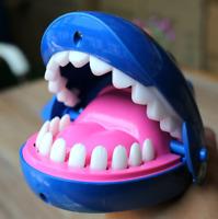 Game Bite Finger Crocodile Shark Bulldog Spoof Dentist Toys Funny Novelty Teeth