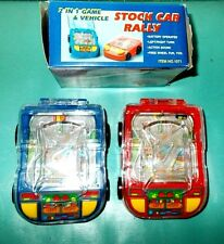 2 In 1 Game & Vehicle Stock Car Rally 1990'S China Mpn 1071 Boys & Girls 3+