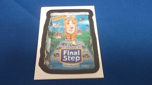 2005 Topps Wacky Packages Series 2 Trading Card FINAL STEP #30