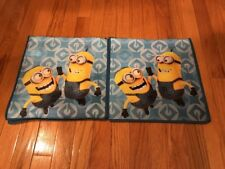 2 NEW Universal Kids Reusable Shopping Tote Bags - Despicable Me - Minions