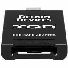 Delkin Premium Adapter For Xqd 2.0 Memory Cards Usb 3.1 Qdr10