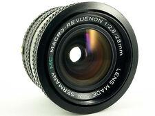 MC MACRO-REVUENON Weitwinkel Objektiv Lens 28mm 1:2.8 Pentax PK Makro