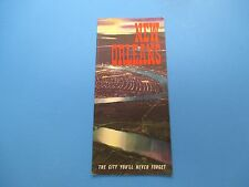 Vintage Travel Brochure, New Orleans, The City You'll Never Forget, S326