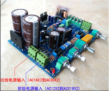 DIY KIT TDA7293 amplifier board kit 100W + 100W With three sections of pre-tones